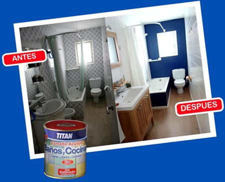 244w713485 esmalte azulejos ba o cocina titan 750 ml azul ebay - Titan banos y cocinas ...
